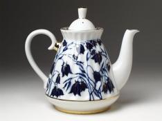 """Чайник заварной, тв.ф. форма лучистая """"Колокольчики""""."""